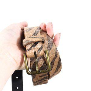 Men's ASOS tiger print belt